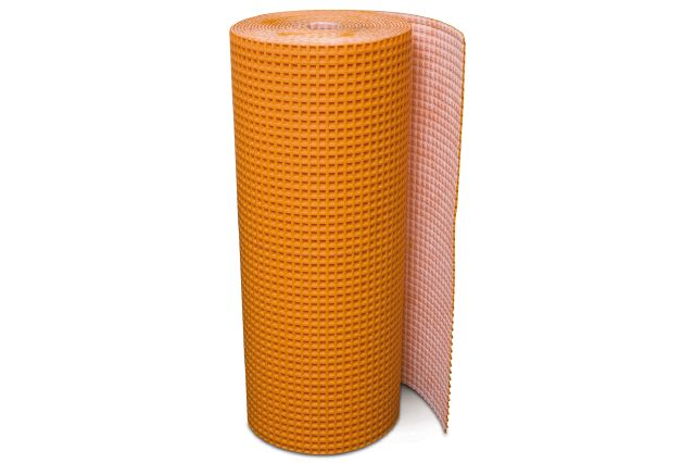 "SCHLUTER DITRA-XL UNCOUPLING MEMBRANE 3'3"" X 53'3"" = 175 SF"