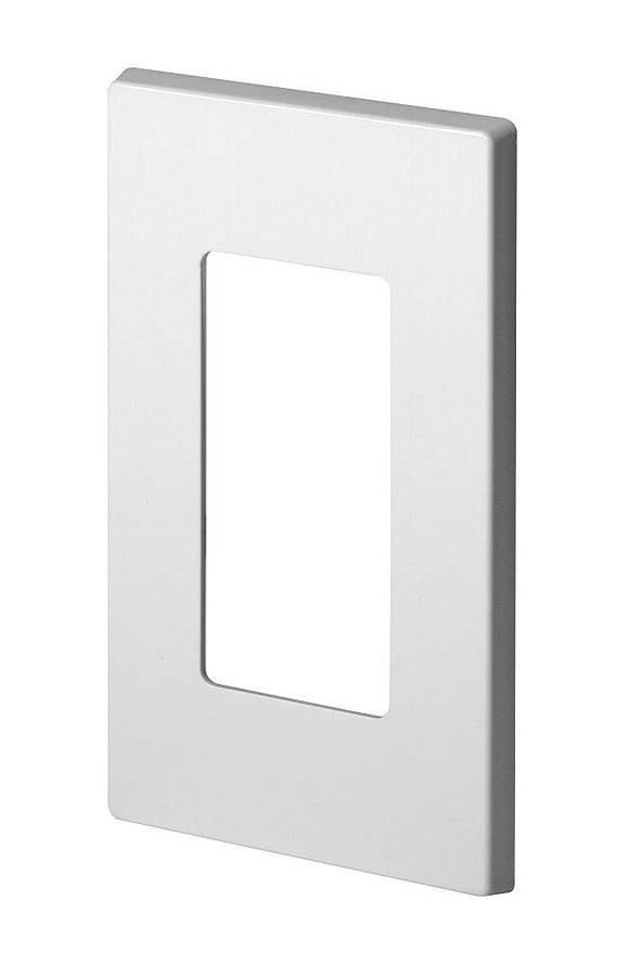 Screwless wall plate  White