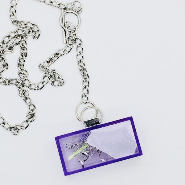 Purple Node Art Necklace.02