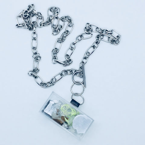 Clear Art Node Necklace.02