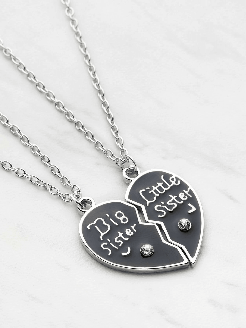 Heart Shaped Friendship Necklace