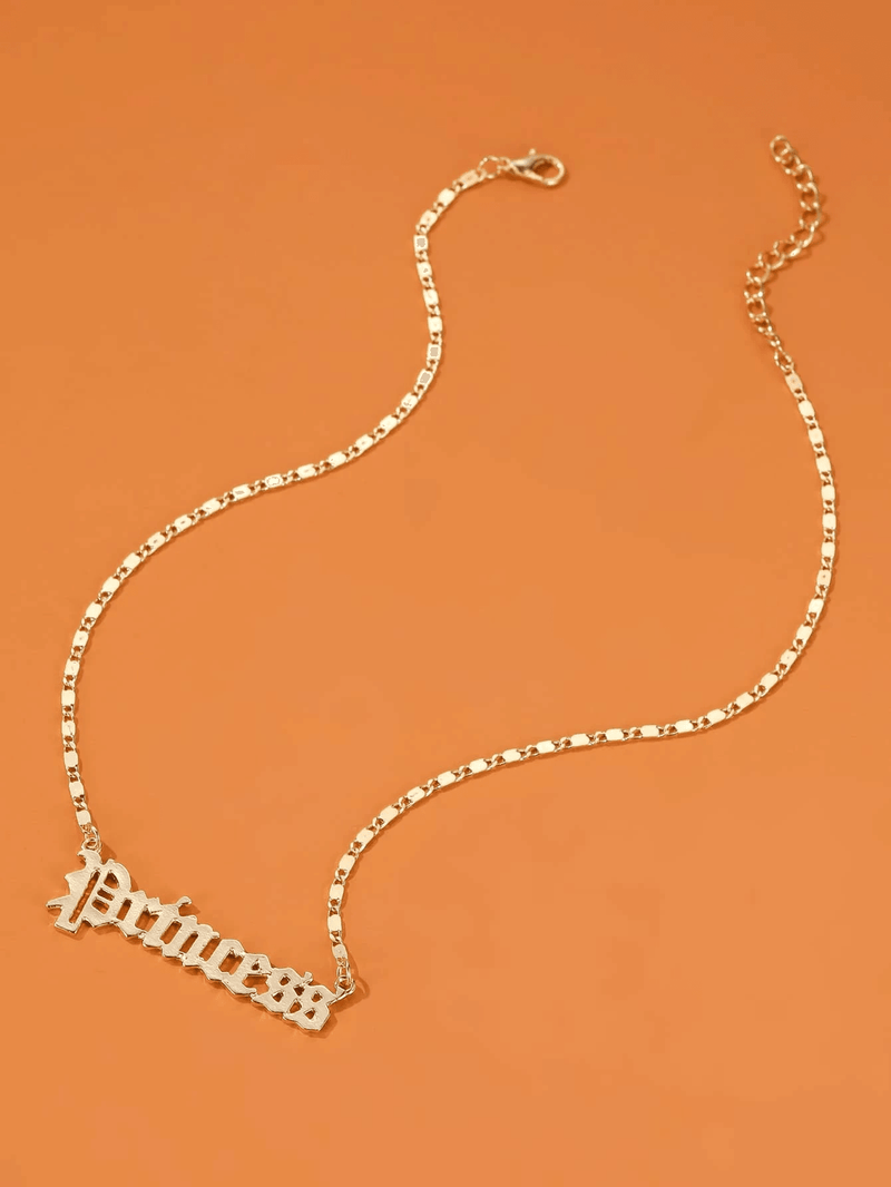 Princess Charm Chain Necklace