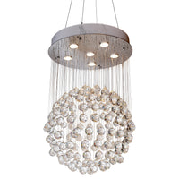 Modern Chandelier Crystal Raindrop Chandelier Lighting Flush mount Ceiling Lighting Fixture Pendant Lamp for Indoor home