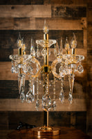 Crystal Table Lamp ,Maria Theresa Table Lamp,  Lamps fixture for Indoor Home