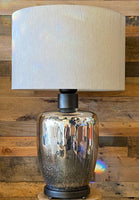 Glass Modern Table Lamp Silver Lamp, Lamps fixture for Indoor Home