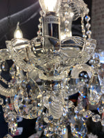 Crystal Chandelier Italy begin 6 Light Candle Style Classic / Traditional Chandelier
