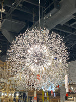 Modern Crystal Chandelier Lighting Crystal Pendant Light Chandelier Lamp for Dining living room big Size