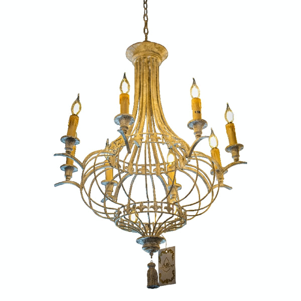 Handmade Chandelier Candle Style Chandelier Lighting Fixture 6 Lights