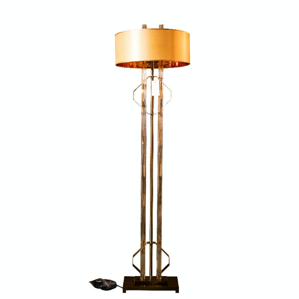 Glass Floor Lamp, Unique Lamps Lamp,  Fixture for Living room