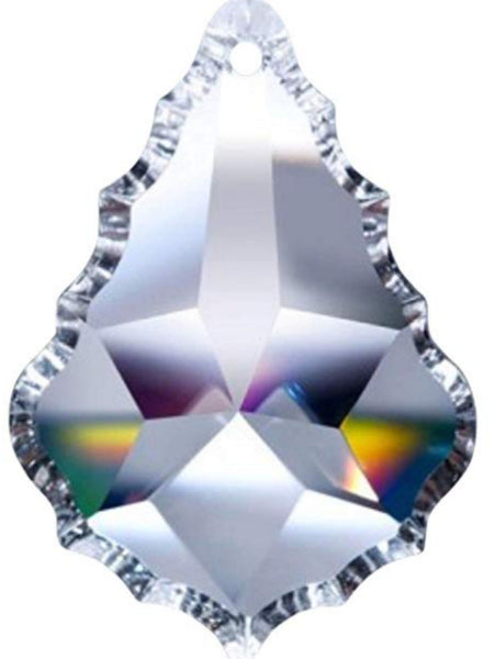 Crystal Replacement Chandelier , Crystal Prism , Crystal Leaf, size (63 mm =  2.49 Inch)Crystal Decor, Crystal leaf