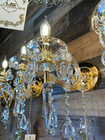 Maria Theresa Wall lamp Crystal Wall Sconces Gold Color 1 light