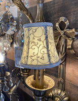 Shade For Chandeliers , Wall Lamps , Floor Lamps , Table Lamps Royal  Handmade Small Lamp Shade