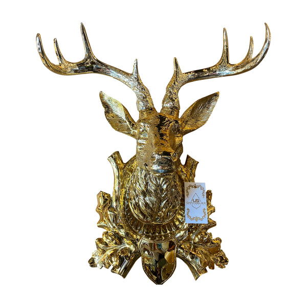 Wall Statues Decoration, Art decor, Art design , Wall decoration, Home design, Home decor, Home decoration, Deer Head Statue, Wall Statue