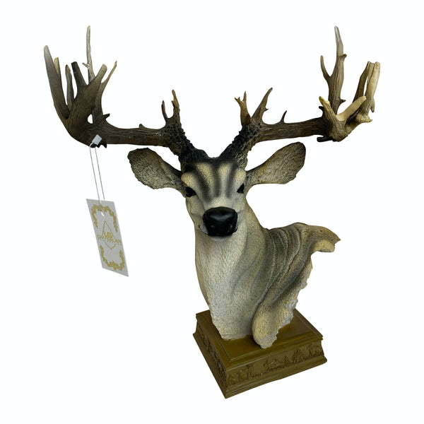 Statues, Art decor, Home Decoration, Deer Statue, Deer Head Statue