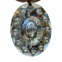 Crystal Replacement Chandelier,  Crystal Prism, Crystal egg , size (76 mm = 2.992 Inch)Crystal Decor, Crystal egg
