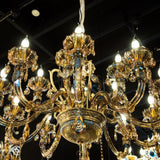 Crystal Chandelier Handmade Ceiling Light Lighting Fixture for Living Room