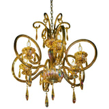 Crystal Chandelier 6 Light Candle Style design Classic / Traditional Lighting Fixture