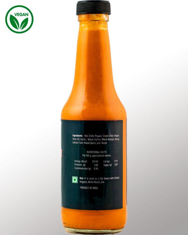 Black Truffle Xtra Hot Sauce