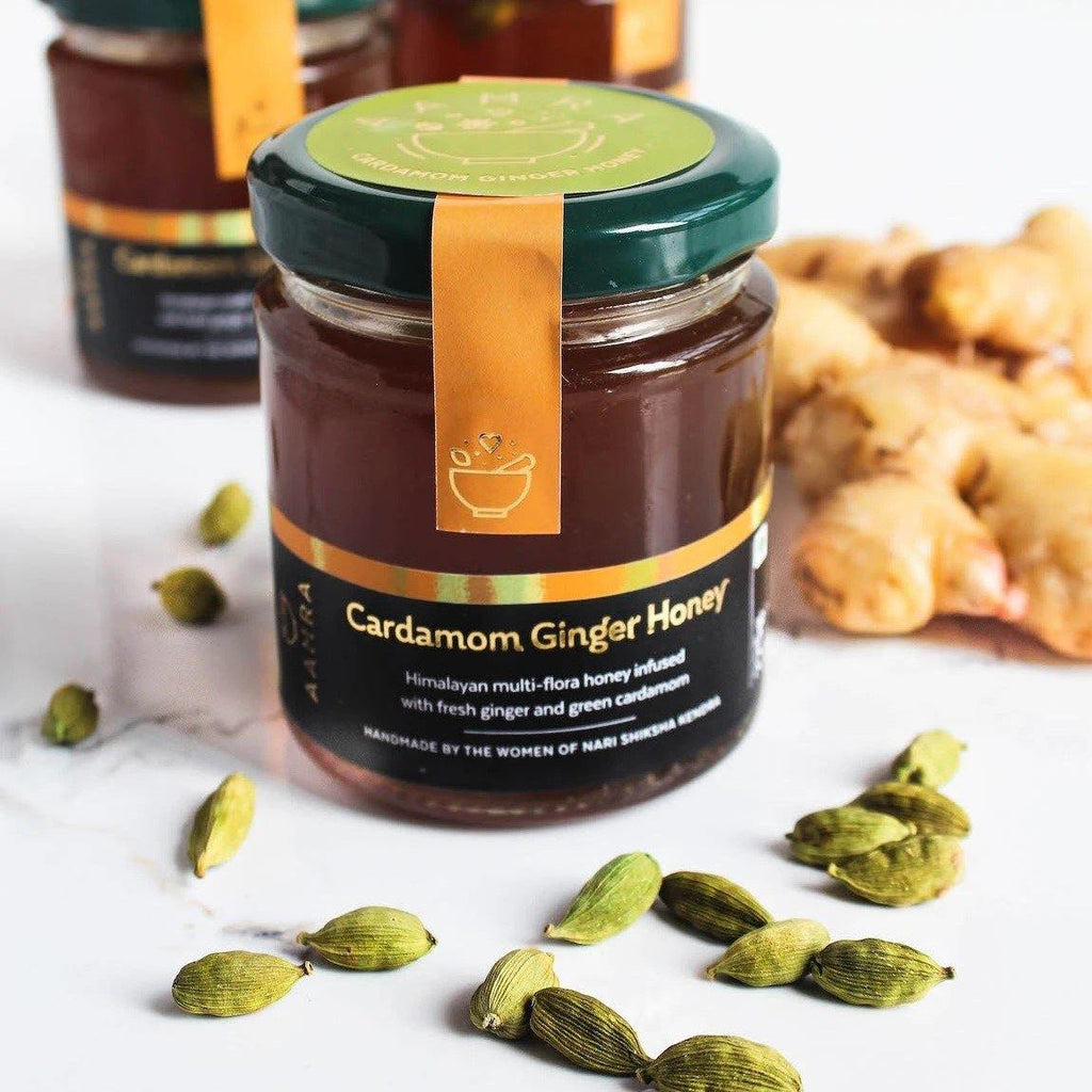 Cardamom & Ginger Honey from Aamra by NSK