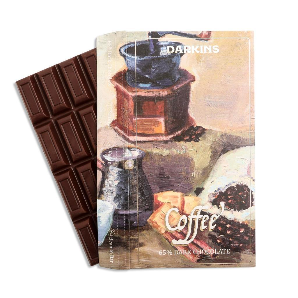 Darkins 65% Dark Chocolate with Coffee