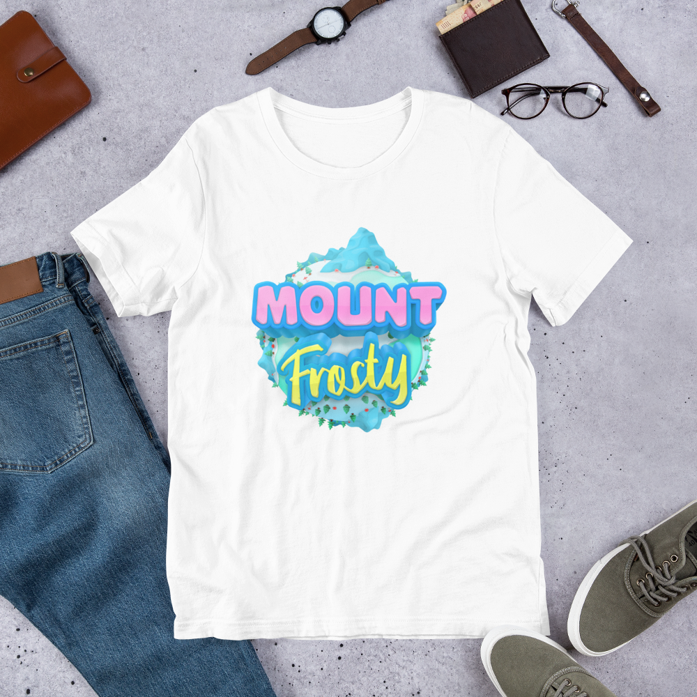 Short-Sleeve Unisex T-Shirt - Mount Frosty