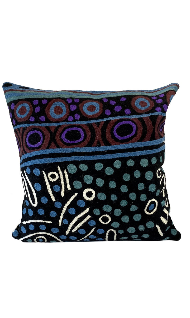 Aboriginal Art Cushion Cover by Julie Woods (4)