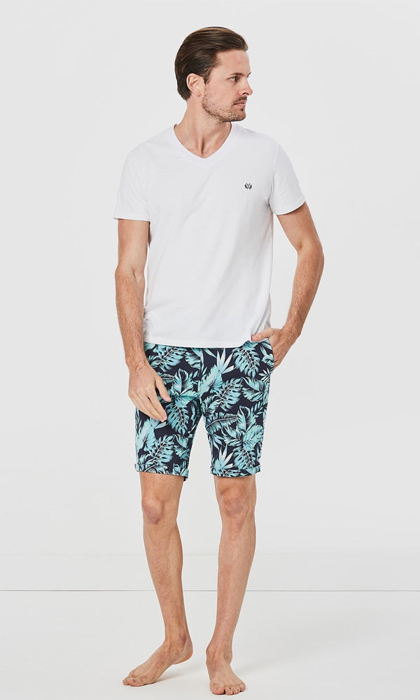 Cotton Short Offshore Floral