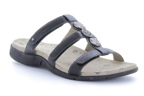 Arch Support Sandal Prize 2 Black, Sizes 6 - 11