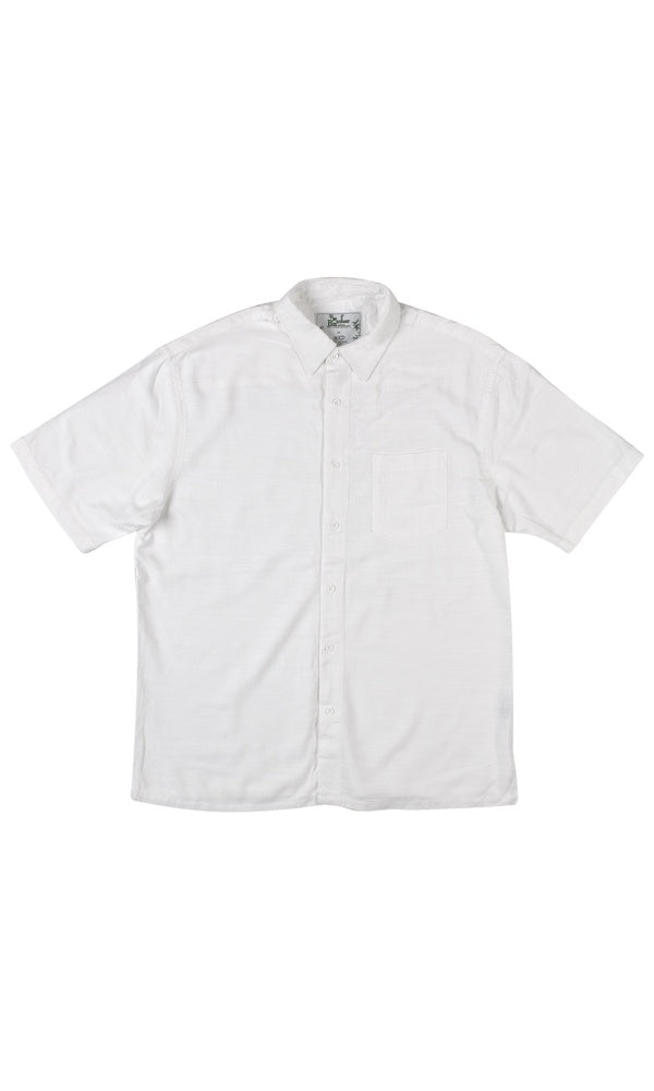 Bamboo Men's Shirt White