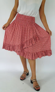 Rayon Skirt Ibiza Petal, More Colours