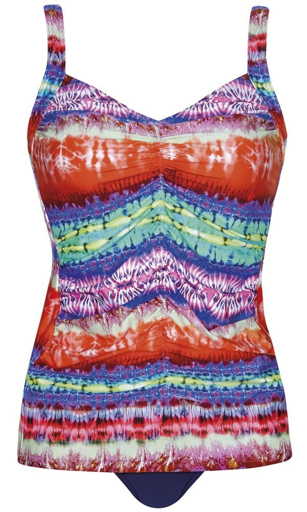 Tankini Set Mastecomy Fire and Rain