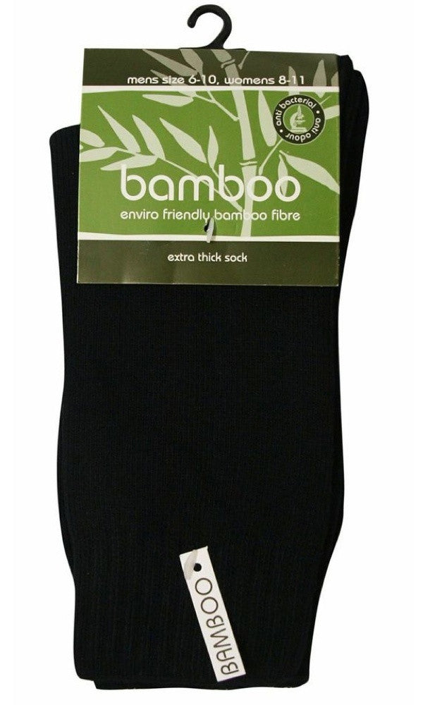 Bamboo Socks Extra Thick, More Colours, Size Women 8-11 Men 6-14