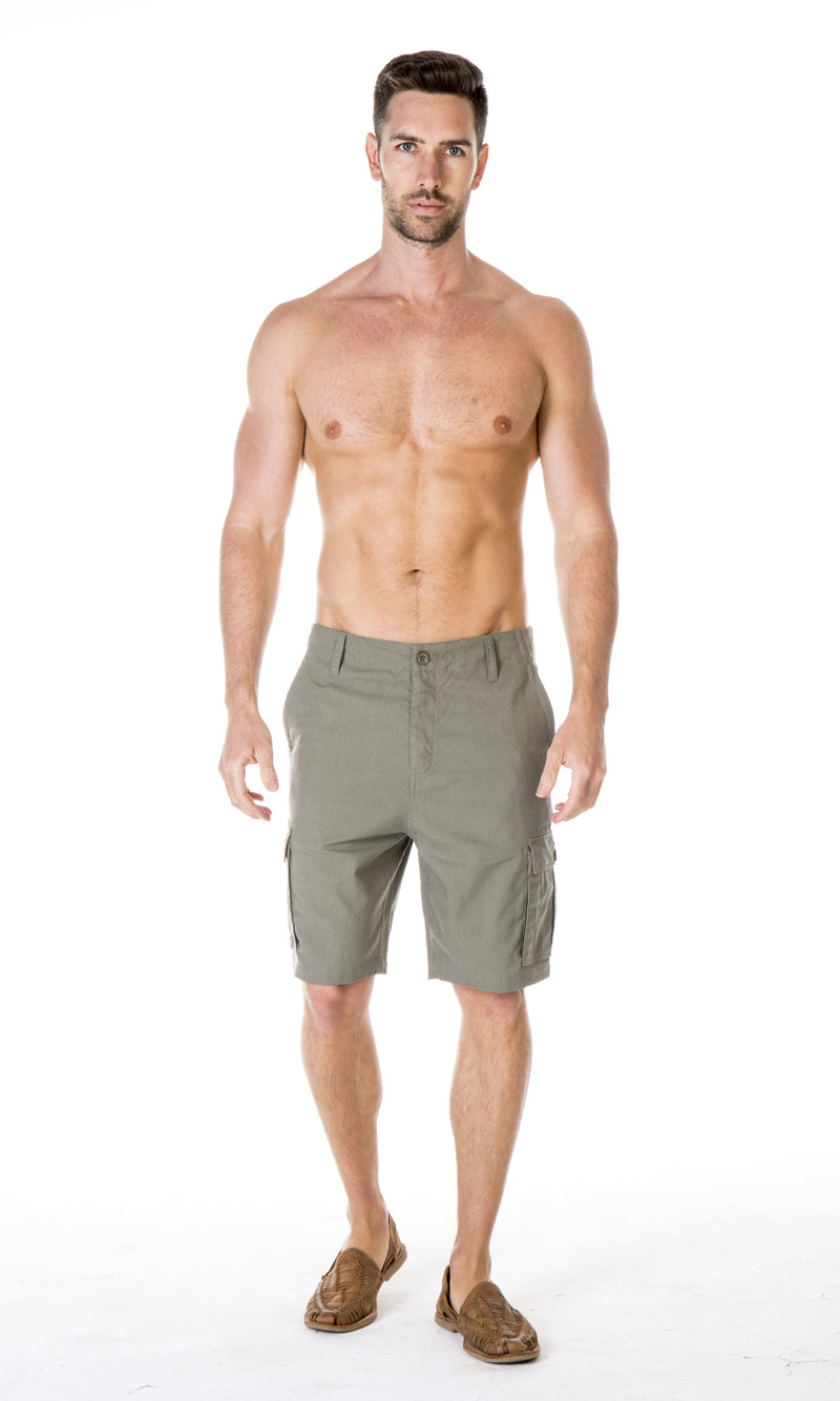 Hemp Cotton Cargo Short