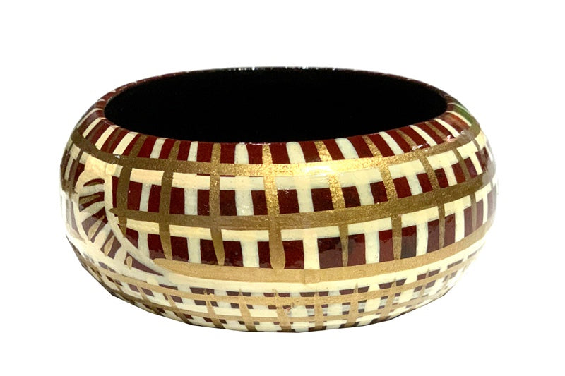 Aboriginal Art Bangle by Jane Margaret Tipuamantumirri