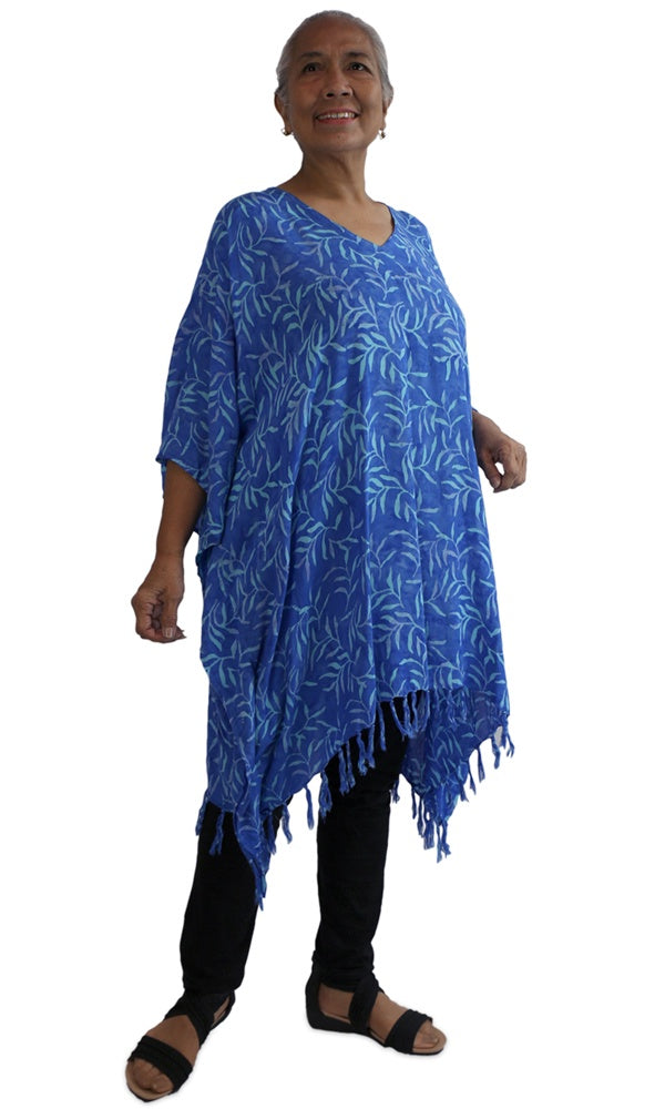 Rayon Cover Up V Neck Tree Fern, Colours