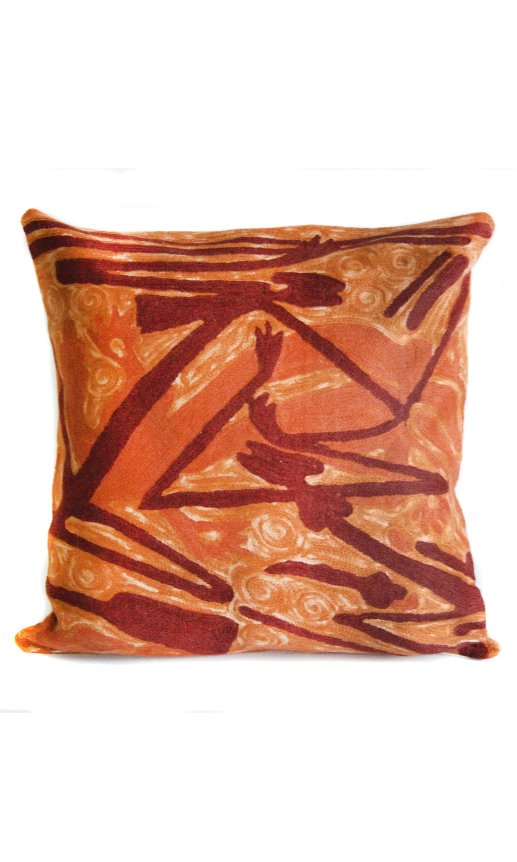 Aboriginal Art Cushion Cover by Gabriel Maralngurra