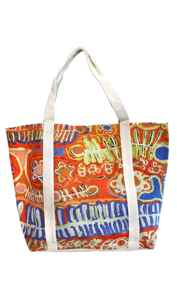 Canvas Big Tote Bag by Murdie Nampijinpa Morris