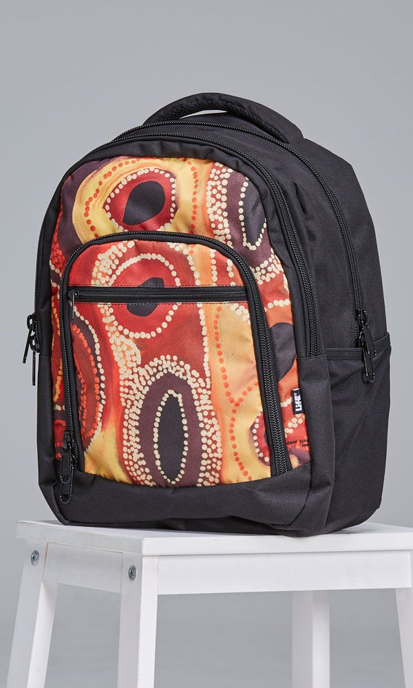 Aboriginal Art Backpack Kaalpa