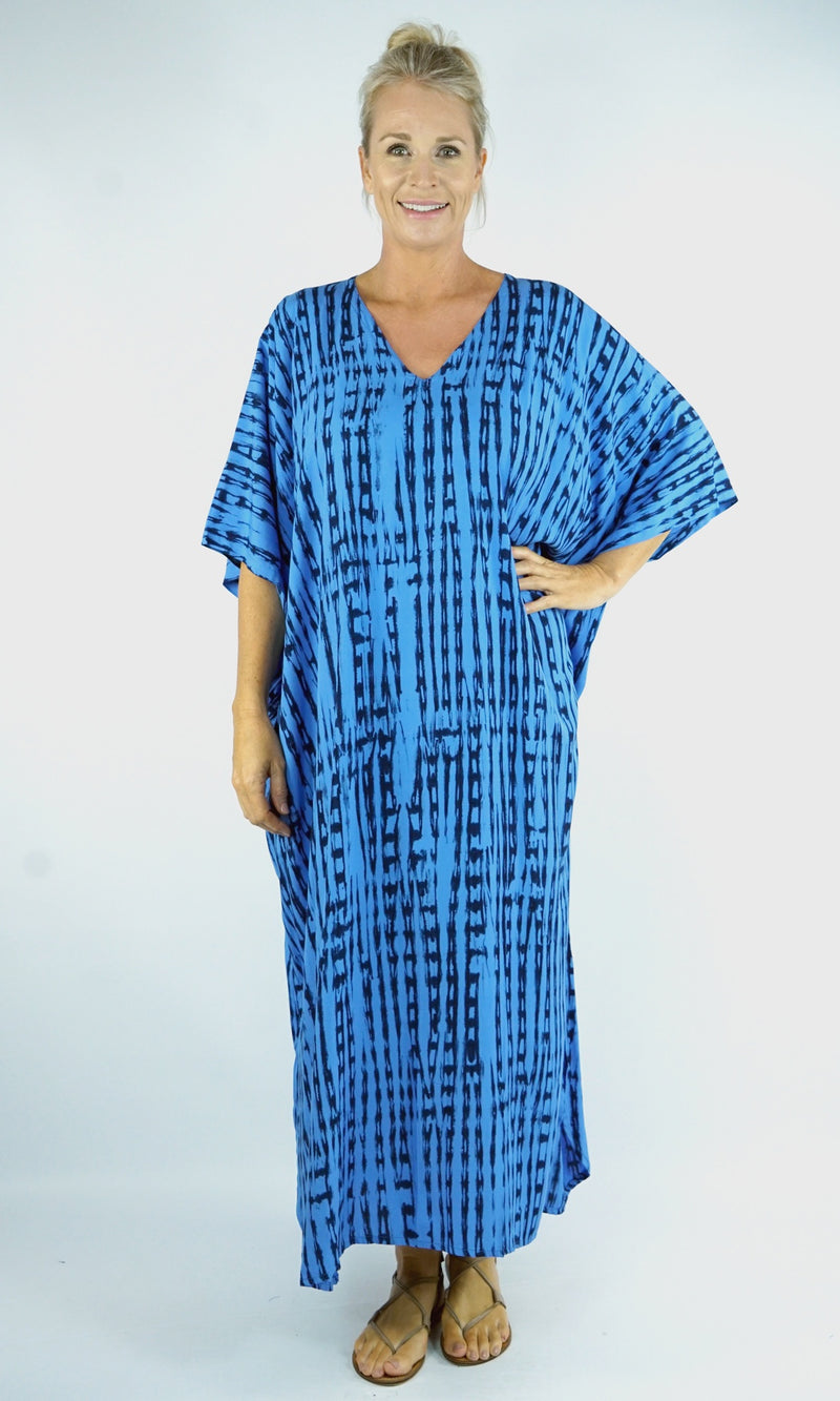 Rayon Kaftan Long Teardrop, More Colours