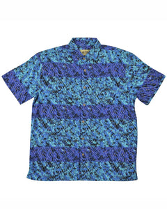 Bamboo Men's Shirt Aboriginal Art Yanjirlpirri Dreaming