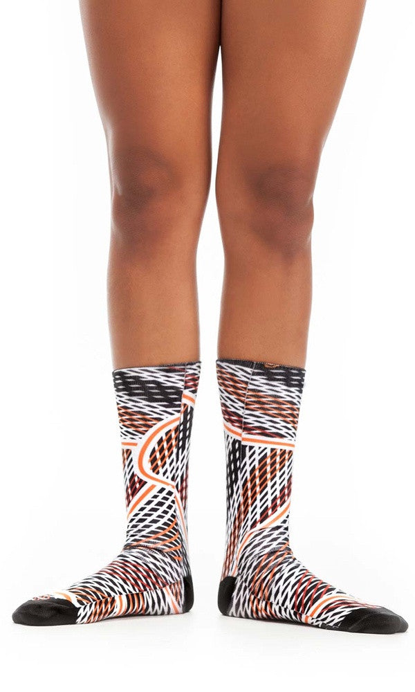 Socks Aboriginal Art, Language Connection