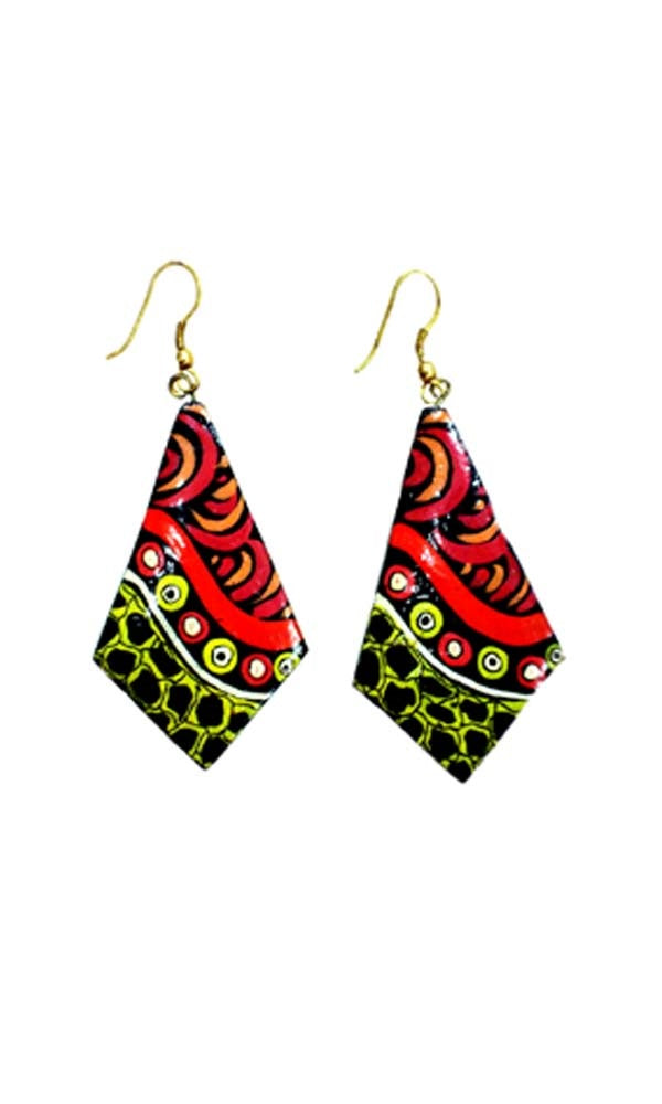 Aboriginal Art Earrings by Trish Singer
