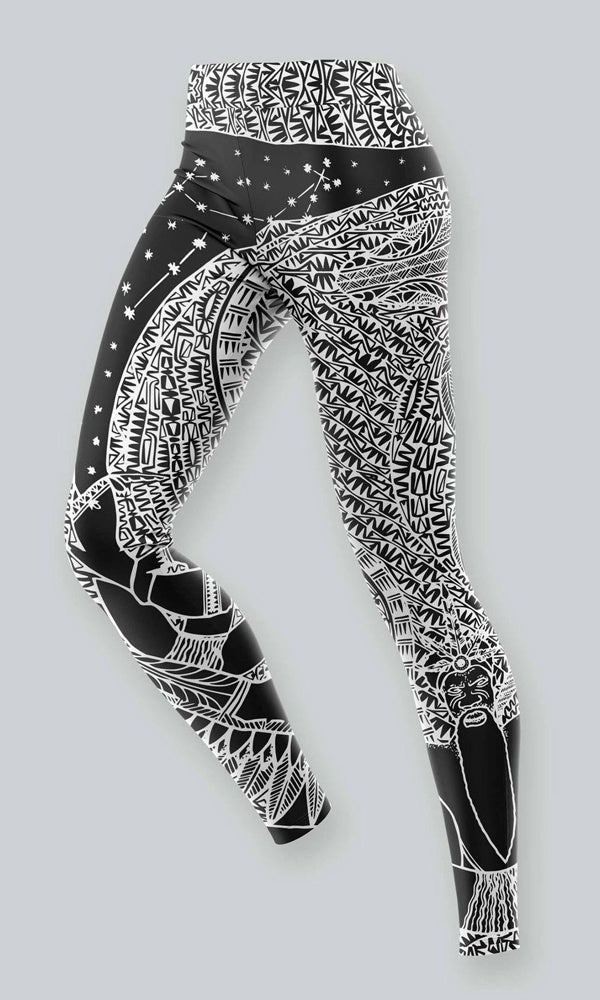 Aboriginal Art Kids Leggings Tradition