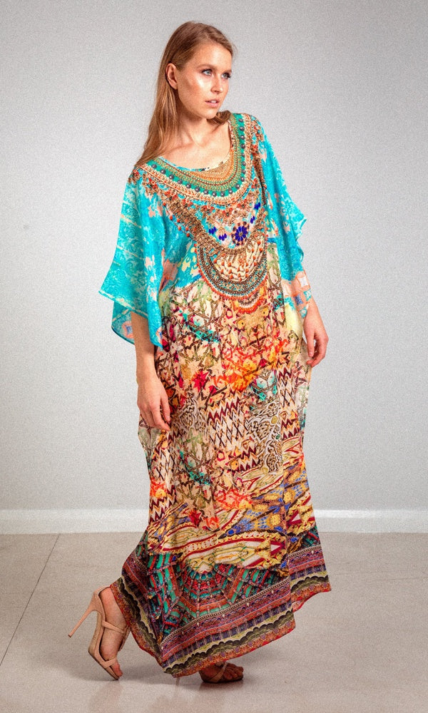 Silk Kaftan Long Arizona
