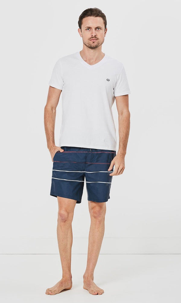 Boardshort Parallel Navy
