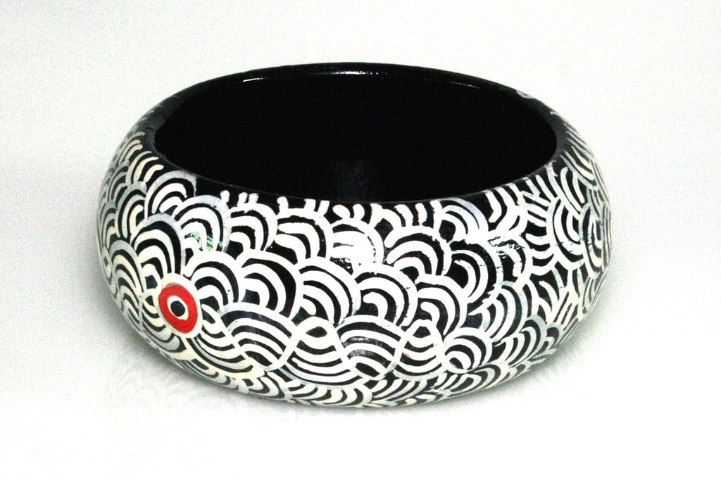 Aboriginal Art Bangle by Nelly Patterson