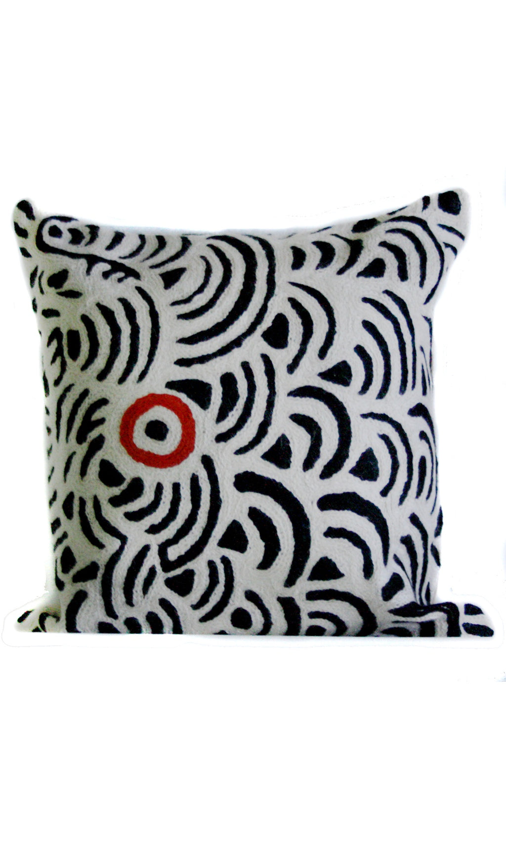Aboriginal Art Cushion Cover by Nelly Patterson