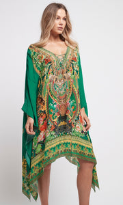Silk Kaftan Short Make it Happen
