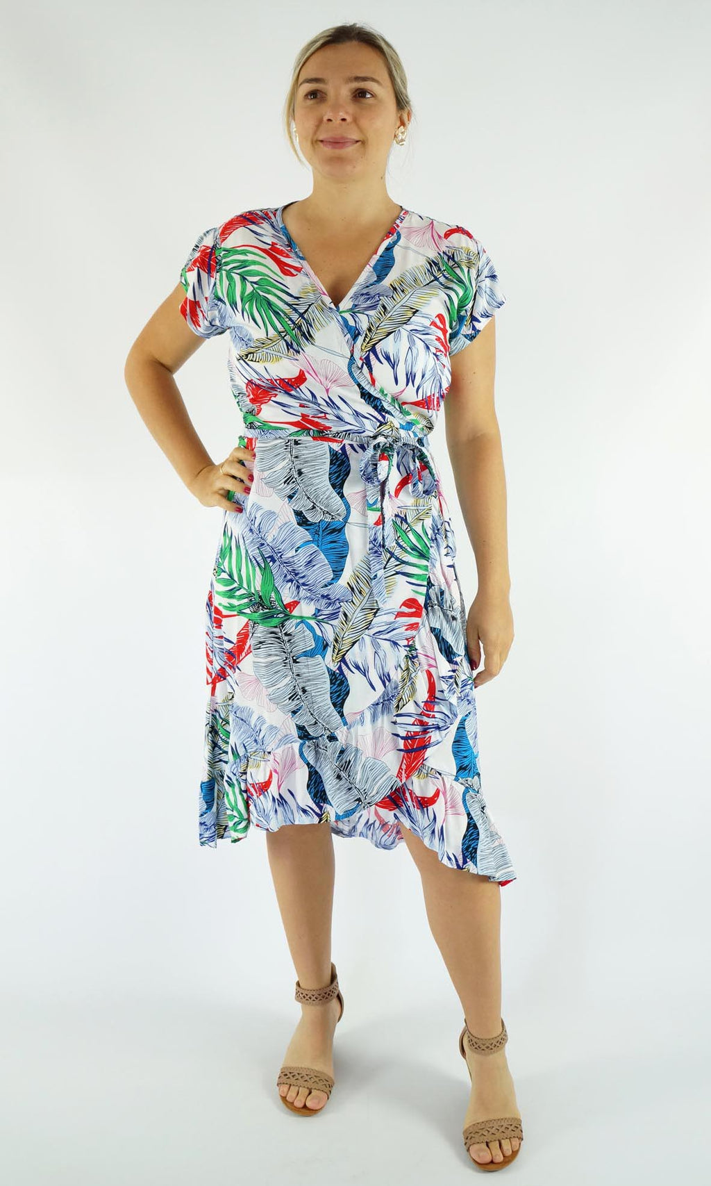 Rayon Dress Cupid, More Colours
