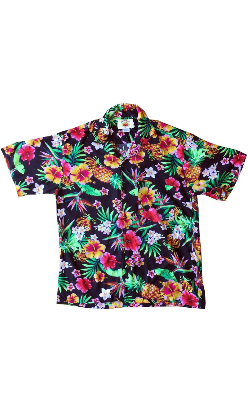Rayon Hawaiian Shirt Sunshine, More Colous
